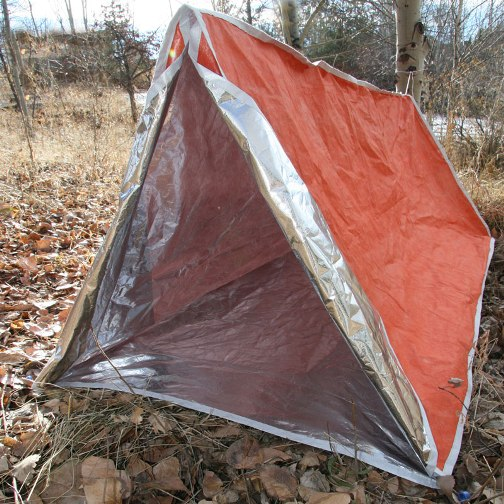 Emergency Insulated Reflective Tube Tent & Insulated Reflective Tube Tent