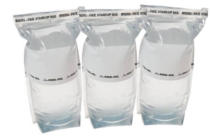 Whirlpak 1 Liter Stand Up Survival Water Storage Bags